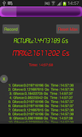 Screenshot of Gforce Meter
