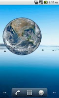 Screenshot of Earth Sticker