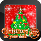 Christmas on your desk AR icon