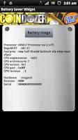 Screenshot of Battery Saver Widget