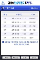 Screenshot of 김성수한솔태권도
