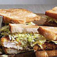 Butter-Almond-Crusted Fishwiches