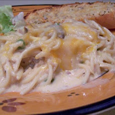 Chicken or Turkey Tetrazzini Casserole