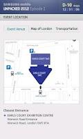 Screenshot of SAMSUNG mobile UNPACKED 2012