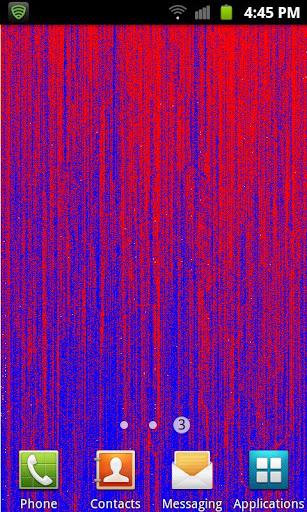 Pixel Streaks Live Wallpaper