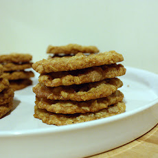 Spiced Oatmeal Crispies