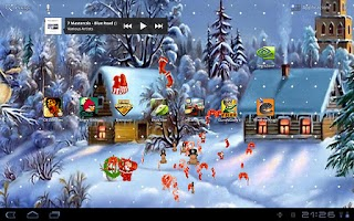 Screenshot of Christmas Audio LWP
