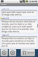 Screenshot of Biblia para Moviles (Español)