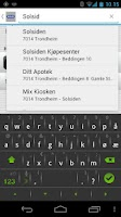 Screenshot of TrønderTaxi
