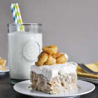 Banana Bread Tres Leches Cake
