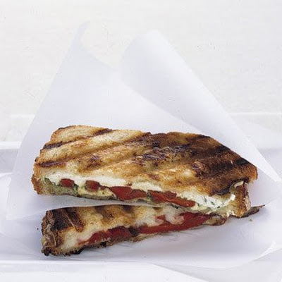 Pressed Mozzarella Sandwiches