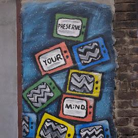 Urban Graffiti  by Matt Franklin - City,  Street & Park  Street Scenes ( urban, free thinking, graffiti, street art, art )