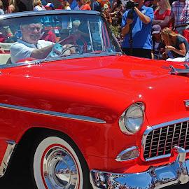 Vintage Car by Jeannine Jones - Transportation Automobiles (  )