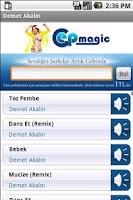 Screenshot of Demet Akalın Şarkıları