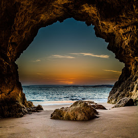 The Magic Cave by André Afonso - Landscapes Beaches ( ferragudo, landscape, beach )