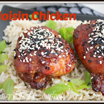 Spicy Hoisin Chicken (Throwback Thursday)