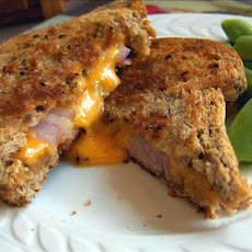 Toasted Roasted Cheese and Onion Sandwich