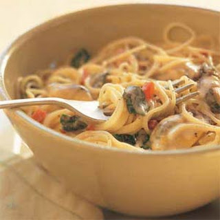 Pasta with Mussels and Monterey Jack