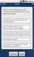 Screenshot of 500 AP World History Questions