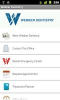 Screenshot of Webber Dentistry