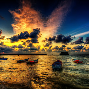 by NC Wong - Landscapes Sunsets & Sunrises