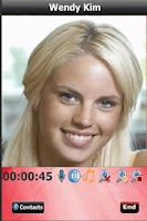 Screenshot of Live Mobile Video Chat