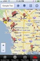 Screenshot of Accident & DUI Help - BAC Test