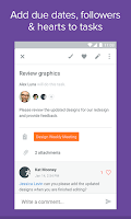 Screenshot of Asana