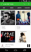 Screenshot of Las Gidi Tunes