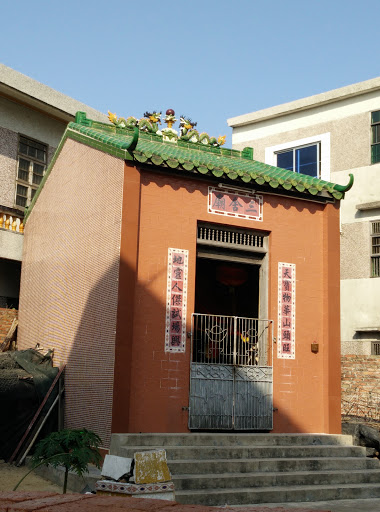 复古水泥砖瓦房