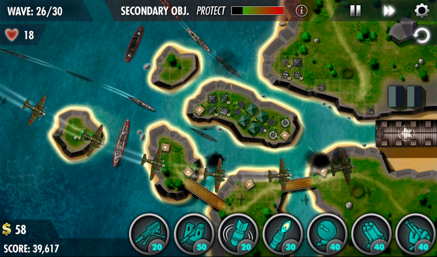 iBomber Defense Pacific Screenshot 10