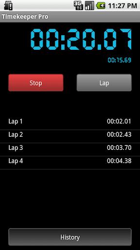 玩運動App|Timekeeper & Stopwatch Logger免費|APP試玩