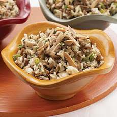 Chicken and Wild Rice Salad with Orange-Mango Vinaigrette