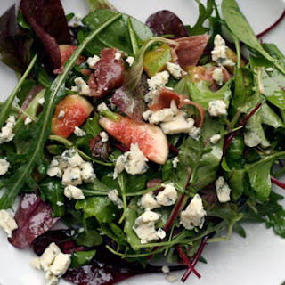 Warm Prosciutto, Fig, and Blue Cheese Salad