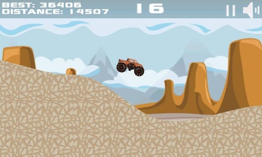 Mountain Offroad Racing - screenshot