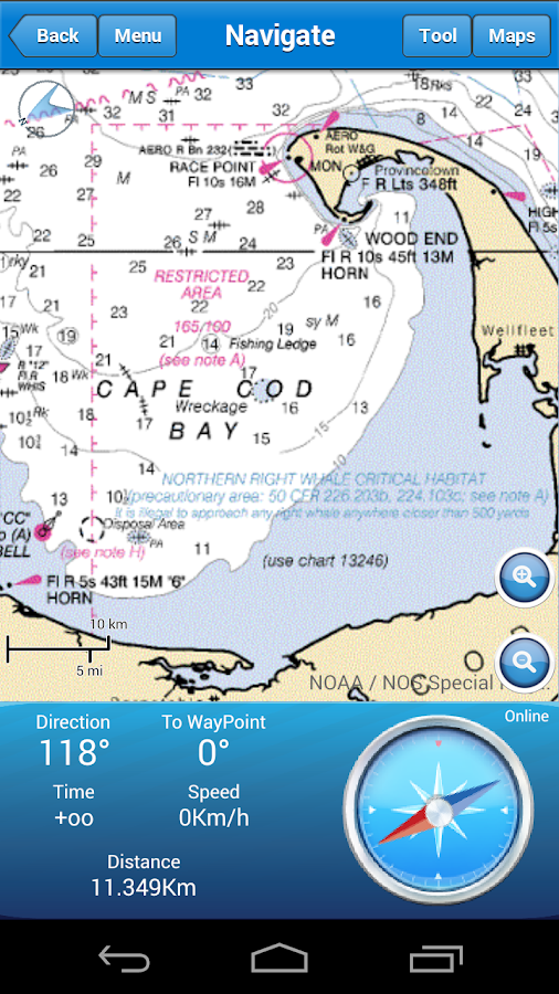 Marine Navigation Screenshot 2