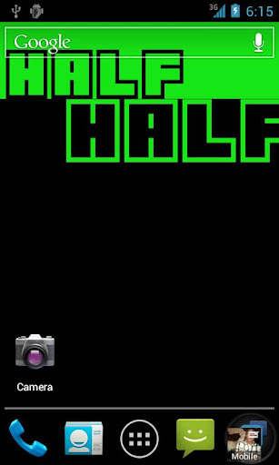 【免費個人化App】Half and Half Live Wallpaper-APP點子