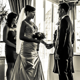 Tying the knot...  by John Cianfarani - Wedding Ceremony (  )