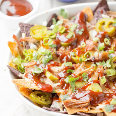 Pulled Pork BBQ Nachos