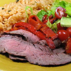 Marinated Grilled Beef Fajitas