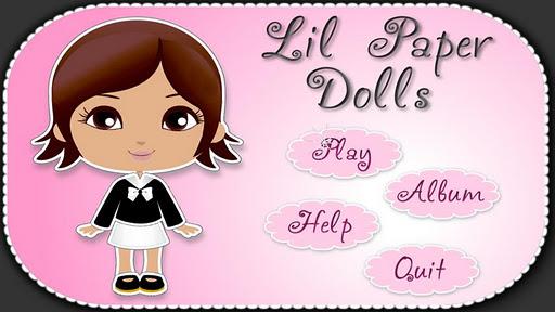 Lil Paper Dolls