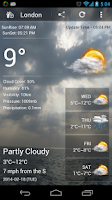 Screenshot of Weather Forecast Pro
