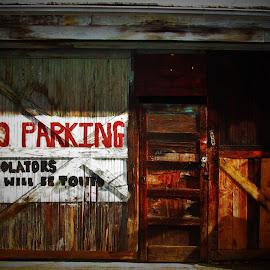 Tow Zone by Brant Stevenson - City,  Street & Park  Street Scenes