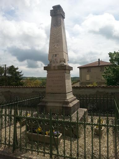 Memorial guerre 14/18 Badinières