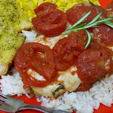 Rosemary Tomato Chicken With Rice