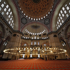 The Süleymaniye Mosque by Almas Bavcic - Buildings & Architecture Other Interior