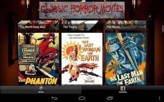 Screenshot of Classic Horror Movies