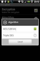 Screenshot of kWS Pro (Android Web Server)