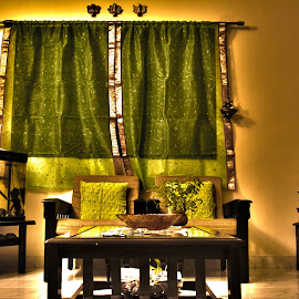 Hall of Greens by Sohil Laad - Digital Art Places ( hdr, creative, indoor, colorful, candid )