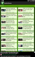 Screenshot of Voetbal Nieuws